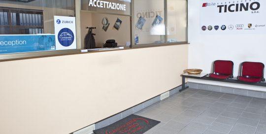 uffici carrozzeria Torino Ticino